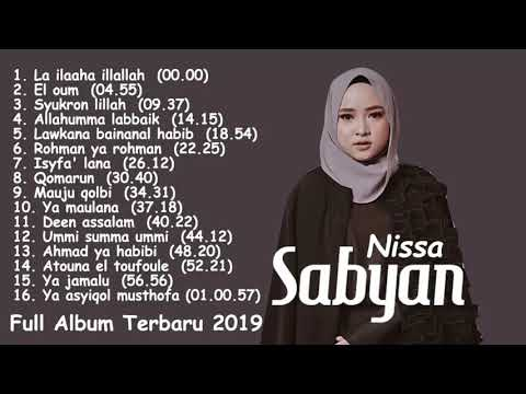 Lagu Nissa Sabyan Terbaru 2020   Full Album