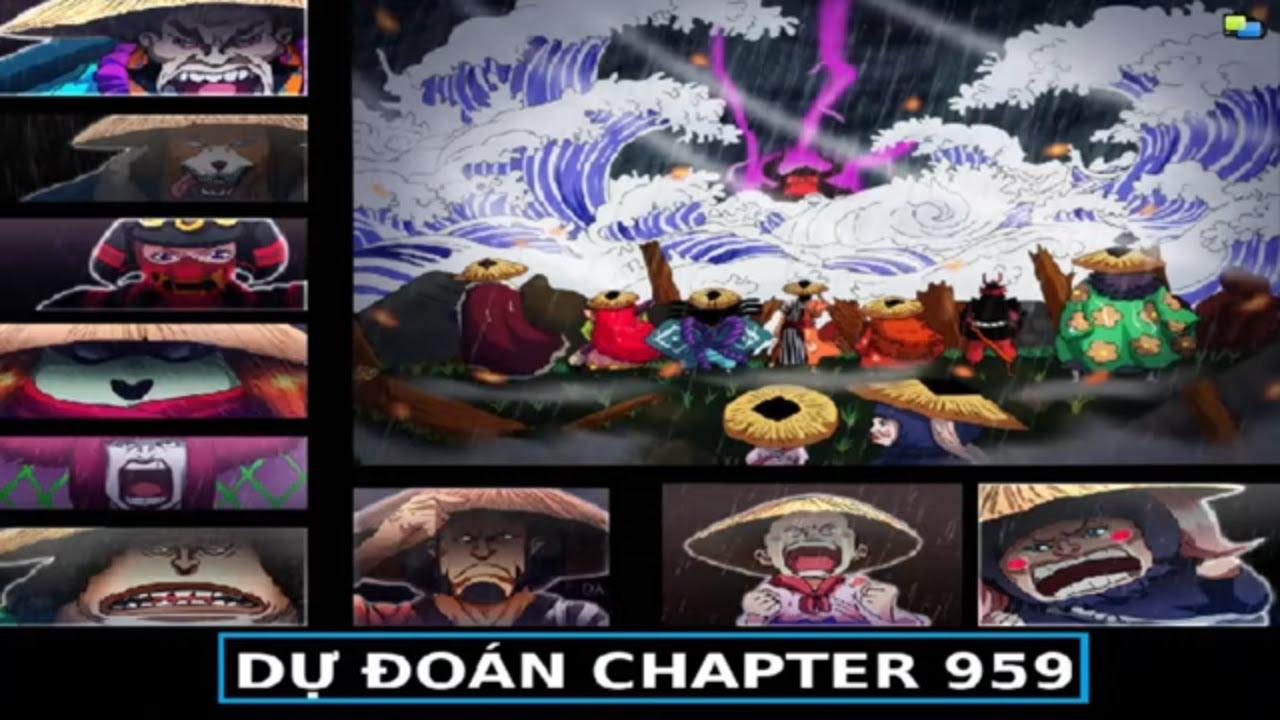 [ Dự đoán One Piece 959 ] Luffy cùng Kyoshiro chuẩn bị
