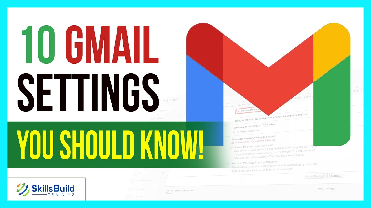 10 Gmail Settings You Should Know! | Gmail Tutorial