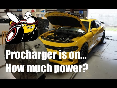 Picking up the Supercharged Scatpack. How fast is it? Dyno Results....