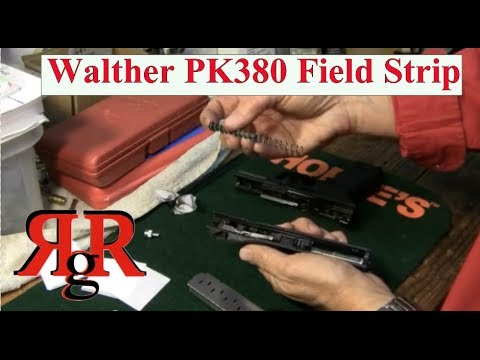 Walther PK380 Field Strip - YouTube