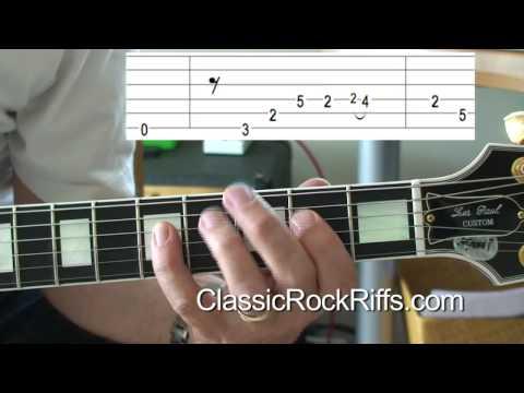 Michael Jackson - Beat It - Intro guitar lesson