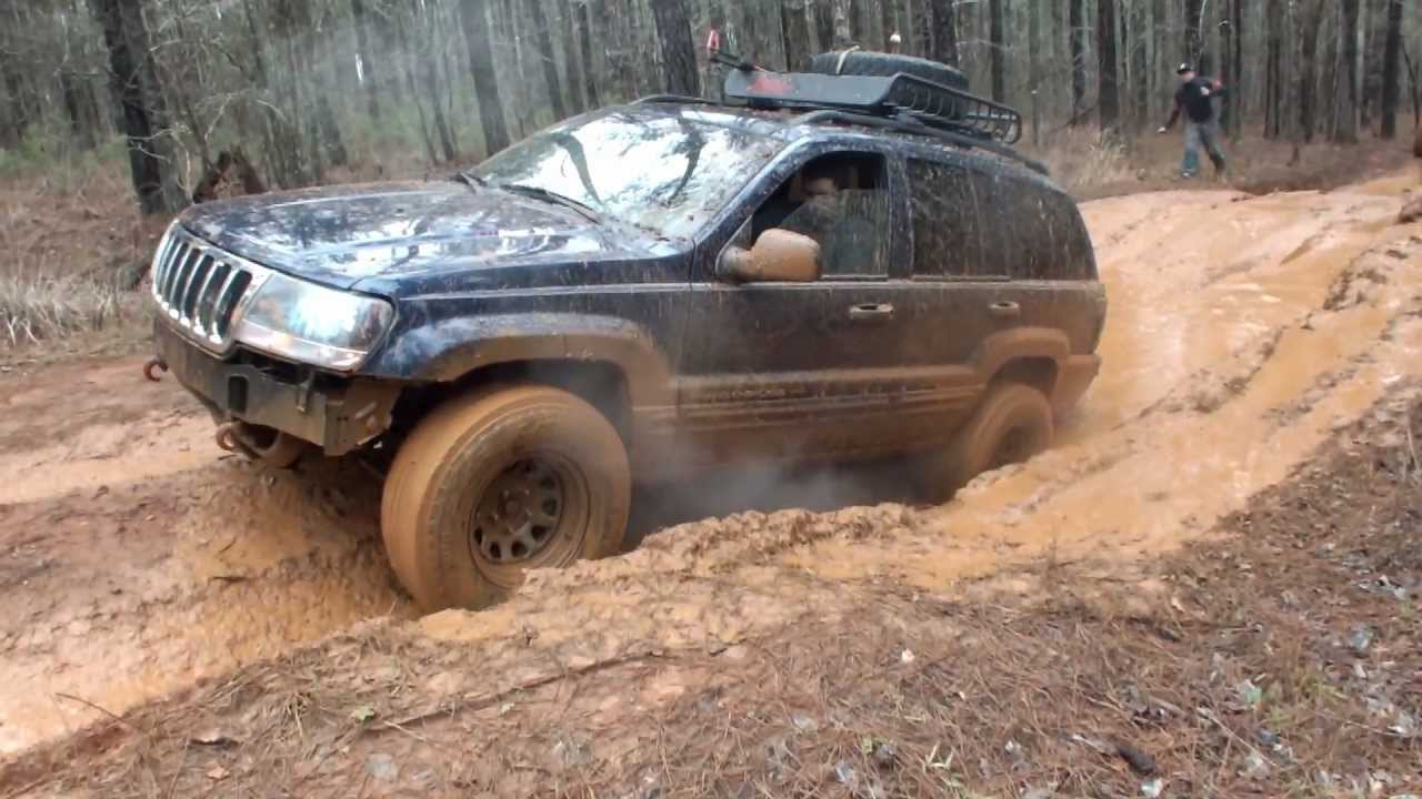 2000 Jeep Grand Cherokee At Durham Town V8 Wj Off Roading Youtube