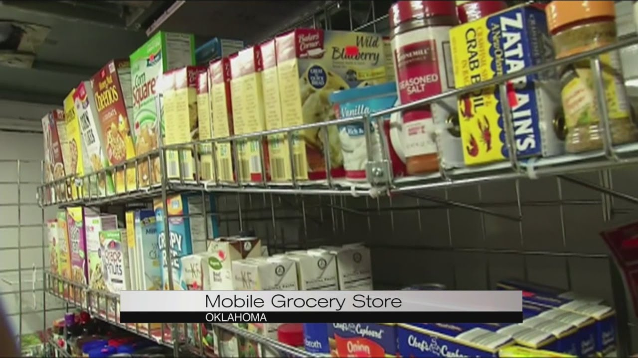 Mobile grocery store youtube for Mobili convenienti