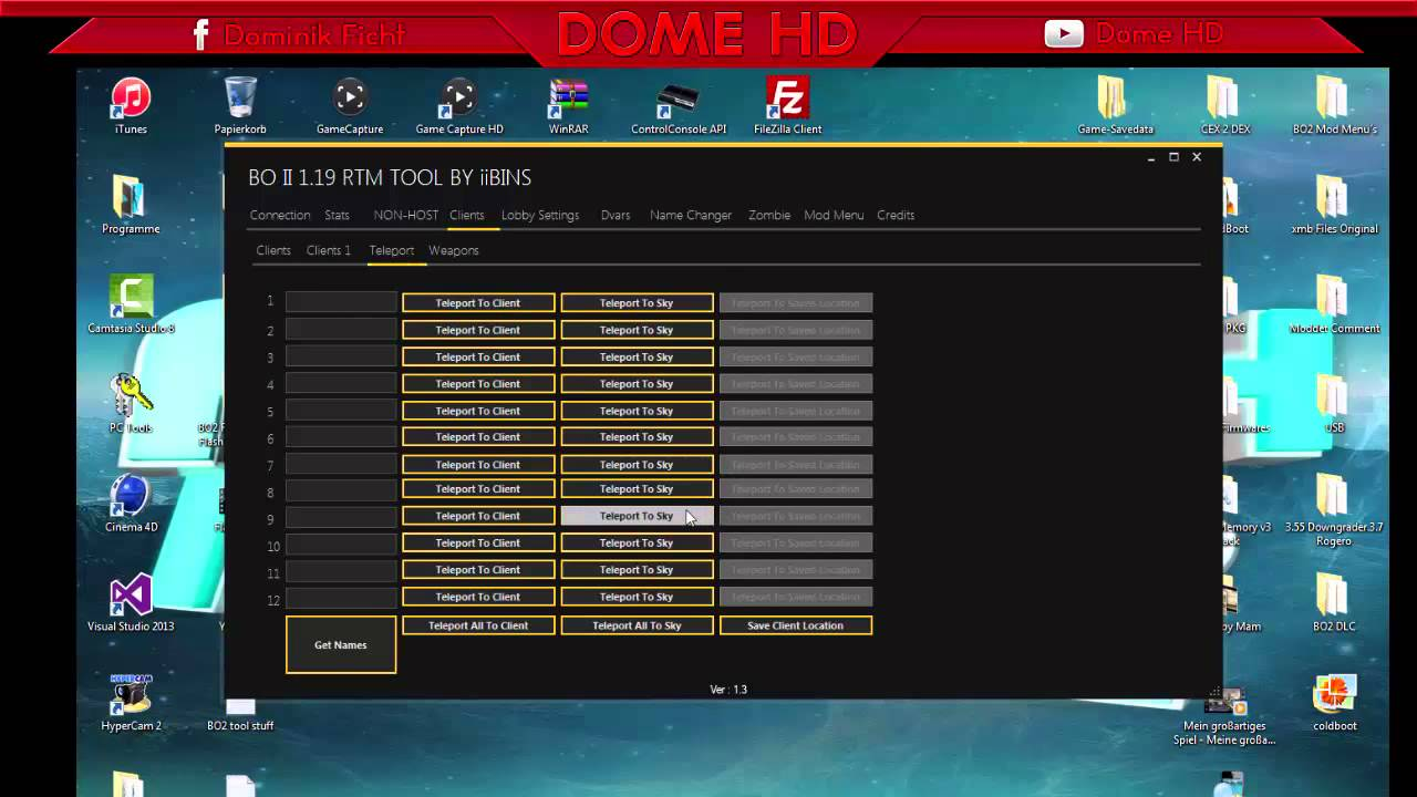 [PS3] BO2 RTM/Stats Tool By IiBINS (1.19/2.19) + DOWNLOAD