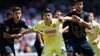 Resumen - Pumas 0-1 América Jornada 7 Clausura 2015 Liga MX
