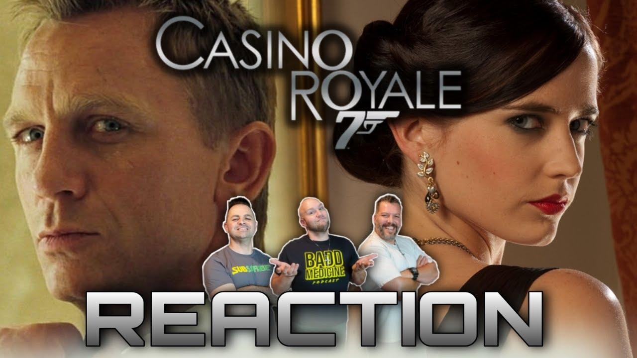 Download Daniel Craig nailed it! James Bond 007 Casino Royale movie reaction