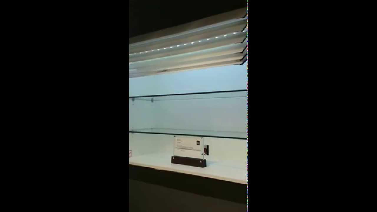 Motorized kitchen unit door - YouTube