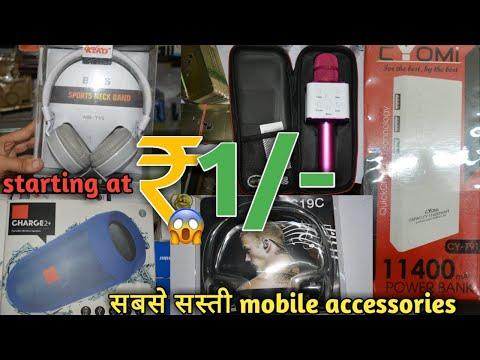 Mobile accessories wholesale market power bank, wireless speakers, wireless headphones, earphones