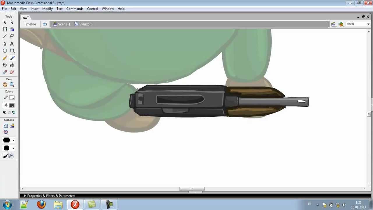 Как нарисовать солдата для TDS + оружие - YouTube