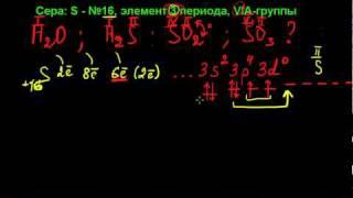 валентность атома серы в соединениях.avi