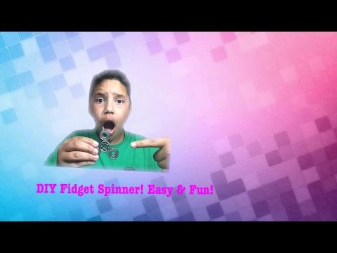 DIY Fidget Spinner (HOMEMADE / EAST AND CHEAP)