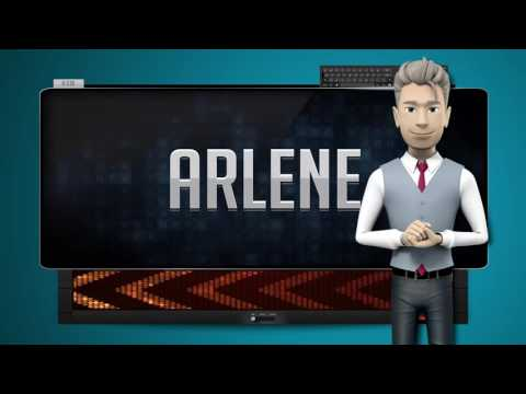 ARLENE  How to say it Backwards