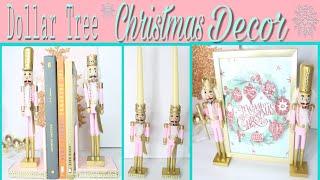 Dollar Tree DIY Christmas Decor | Christmas Nutcracker Decor
