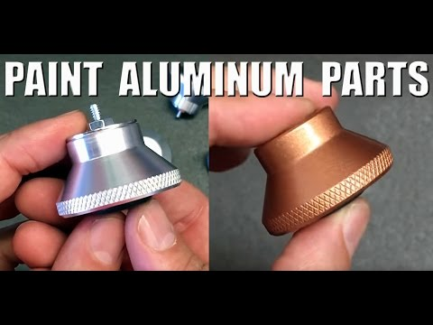 Painting Aluminum with SEM Self Etching Primer and RUSTOLEUM Paint