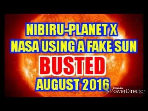 NIBIRU-PLANET X 2016 NASA Using a FAKE SUN TO HIDE NIBIRU