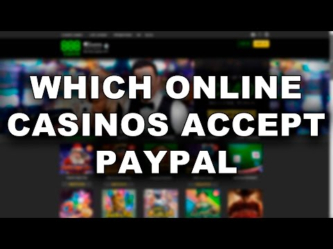 Which online casinos accept paypal
