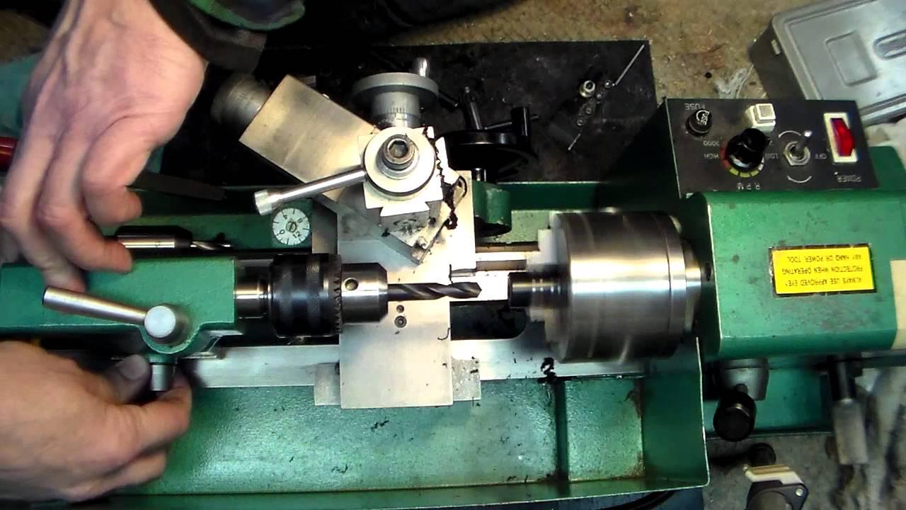 operate lathe machine