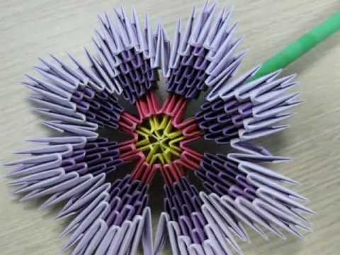 3d Origami Peacock How To Make