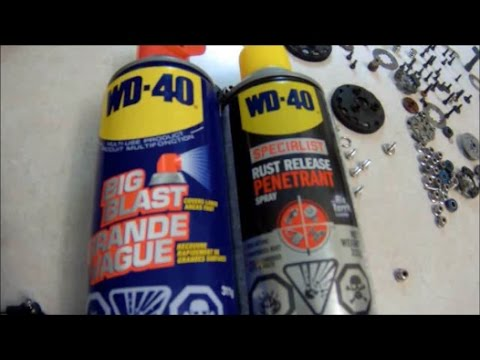 RC Overdose-Cleaning RCs withWD-40 (Rust Release Penetrant & The Original WD-40)
