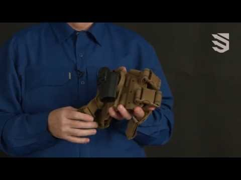 Covert and intuitive -- the BLACKHAWK!® SERPA® CQC® Concealment Holster
