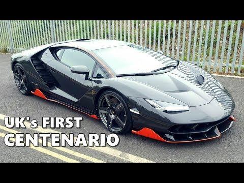 First Lamborghini Centenario In Uk Youtube