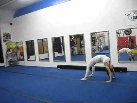 Level 1 Gymnastics Compulsory Routine