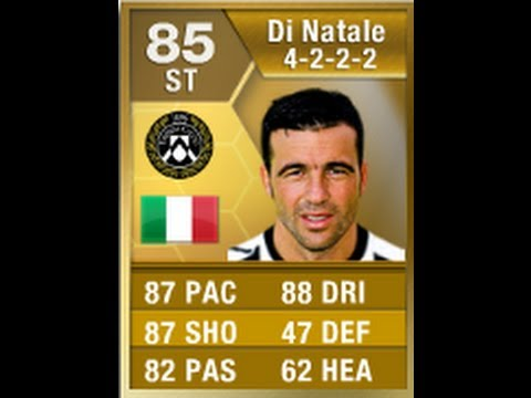 FIFA 13 Di Natale 85 Player Review & In Game Stats ...