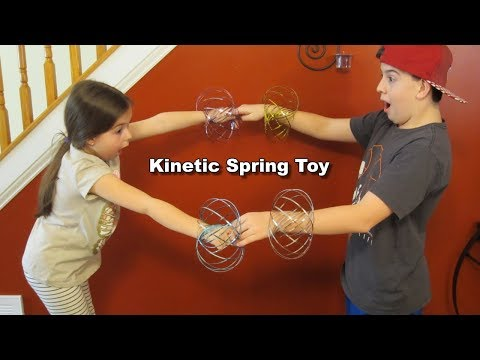 kinetic-spring-toy---fun-cool-different---review-&-test