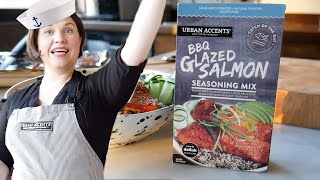 Seafaring Superstar with BBQ Glazed Salmon   Cook School   Urban Accents