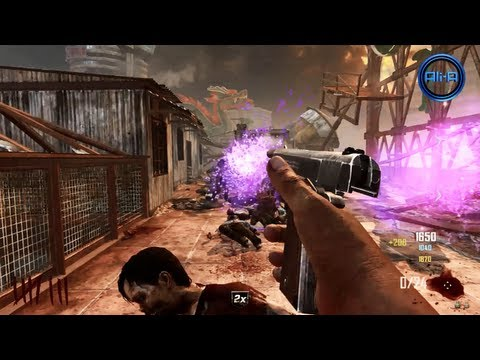 """DIE RISE"" ZOMBIES Gameplay - Black Ops 2 Revolution Map Pack - Call of Duty DLC Map"