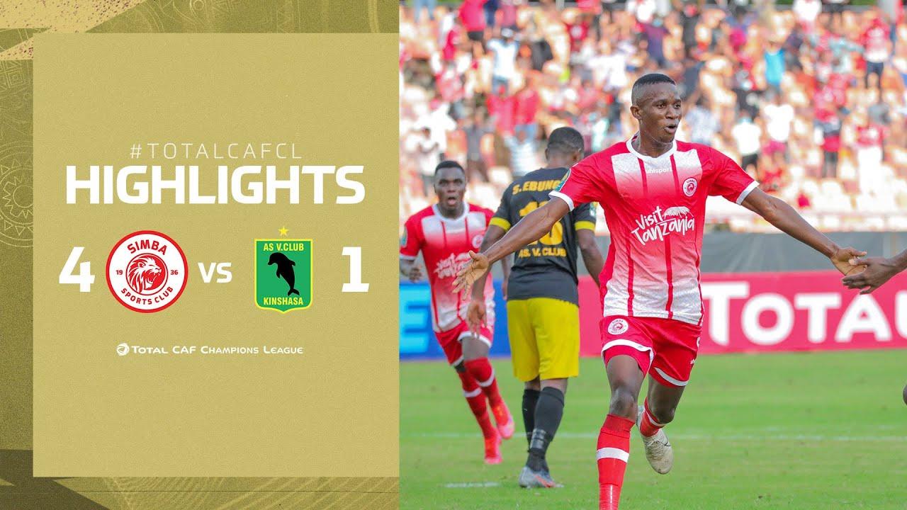 Download HIGHLIGHTS | Simba SC 4 - 1 AS Vita Club | Matchday 5 | #TotalCAFCL