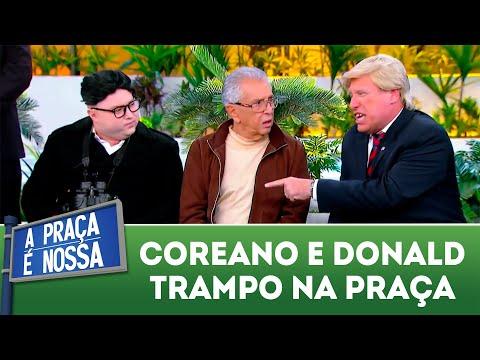 Ditador coreano encontra Donald Trampo | A Praça é Nossa (26/07/18)