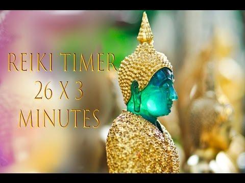 Reiki Healing Music with 26 x 3 Minute Tibetan Bell Timer