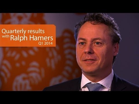 1Q14 Quarterly results with Ralph Hamers, CEO ING Group