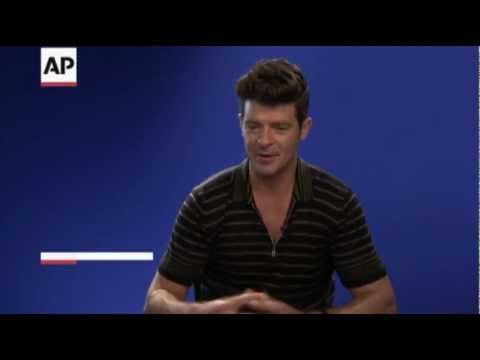 Robin Thicke on Wife and Son's Singing Skills