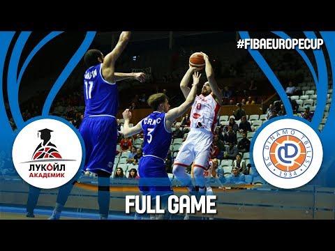 Lukoil Academic (BUL) v Dinamo Tbilisi (GEO) - Full Game - FIBA Europe Cup 2017-18