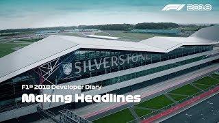 F1 2018 - Career - Developer Diary #1