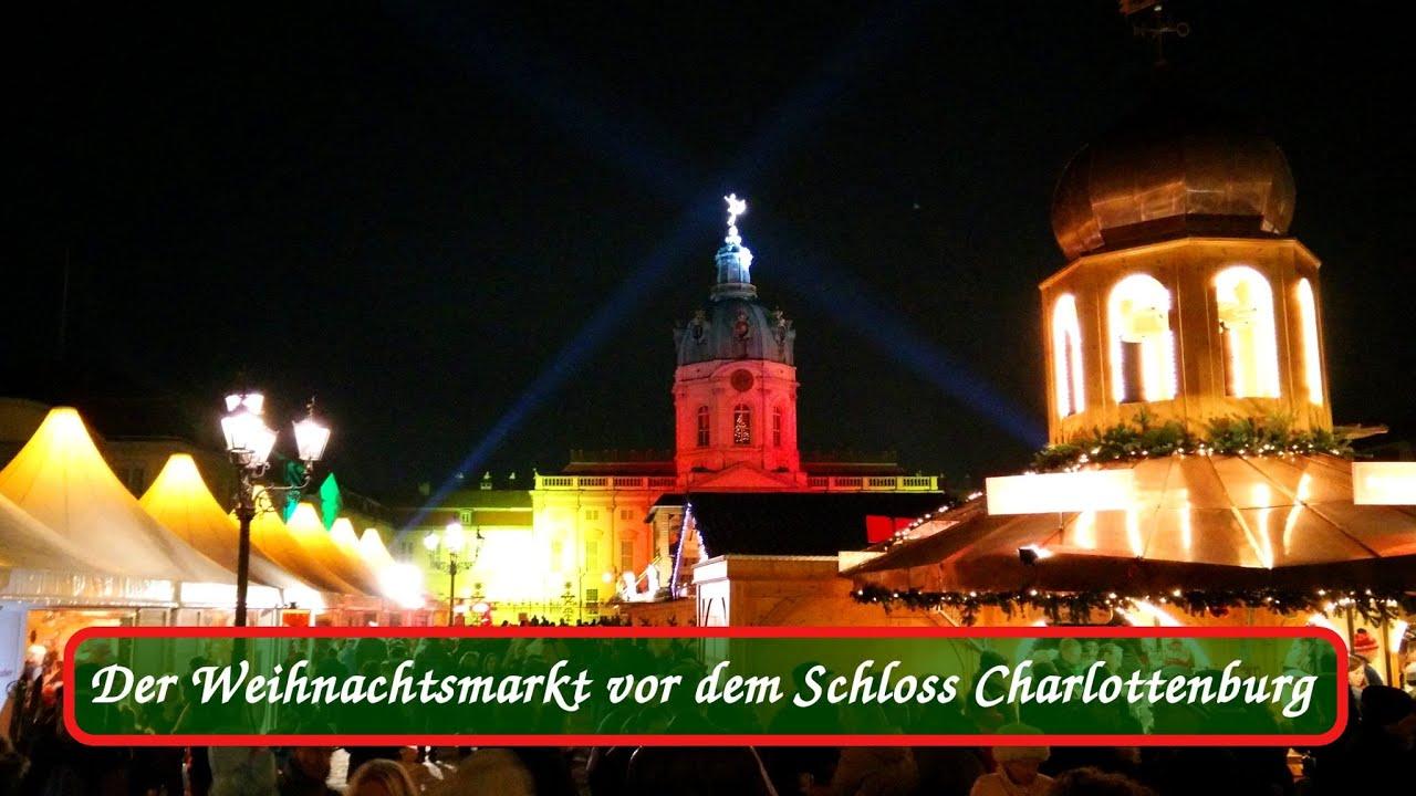 Weihnachtsmarkt Charlottenburg.Schloss Charlottenburg Budenzauber Mit 250 Ausstellern