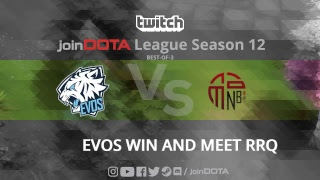 Video LIVE [INDONESIA] EVOS vs NEW BEGINNING - Join Dota League 12 -  Best of 3 download MP3, 3GP, MP4, WEBM, AVI, FLV Agustus 2018