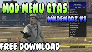 MOD MENU GTA5 ONLINE 1.27 SPRX DEX BLES WILDEMODZ FREE DOWNLOAD