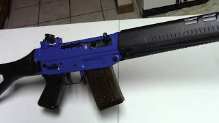 Blue Christmas With The Swiss SG-550 Blue Star Edition Rifle