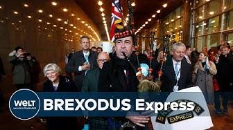 BREXIT: Bye-bye Brüssel - Briten ziehen sich über den Kanal zurück