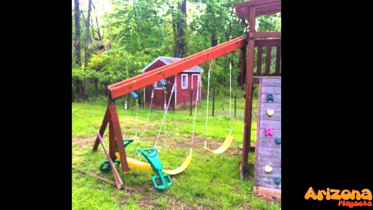 Do Not Buy A Wooden Swing Set Without Knowing These First Youtube