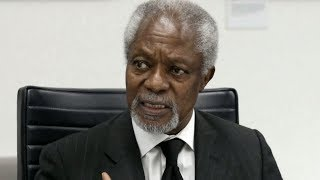 World mourns renowned diplomat Kofi Annan
