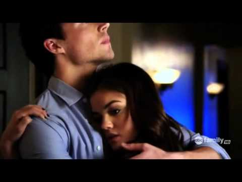 Aria and Ezra Pretty Little Liars (Just A Kiss- Lady Antebellum)