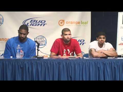 Dominican Republic Postgame: Francisco Garcia, Edgar Sosa and Al Horford