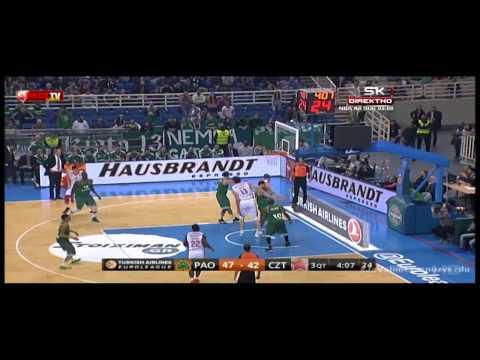 Panathinaikos Athens - Crvena zvezda Telekom | Nezaustavljivi Marjanović