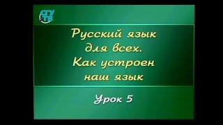 Русский язык для детей. Урок 1.5. Что такое слог?