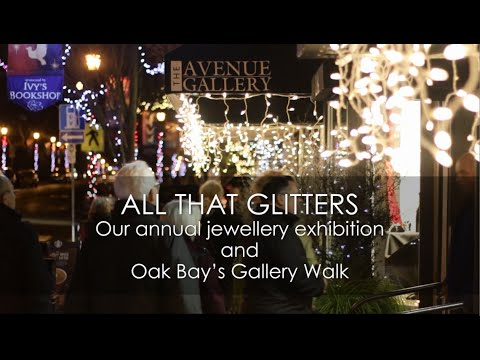 All that Glitters Jewellery Exhibition - December 2015 - The Avenue Gallery